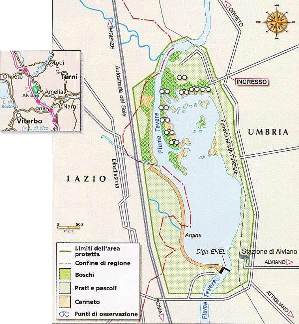 Oasi WWF Lago di Alviano