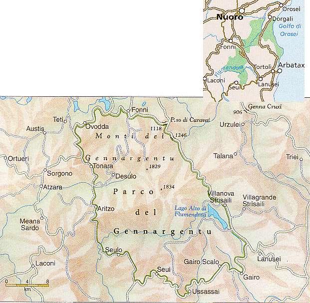 Parco Nazionale del Golfo di Orosei e del Gennargentu