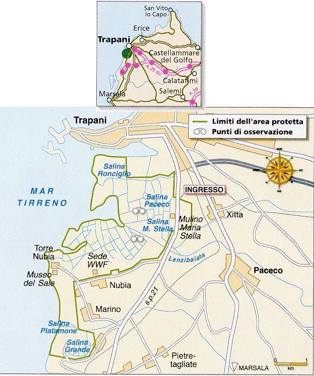 Riserva Regionale delle Saline di Trapani e Paceco